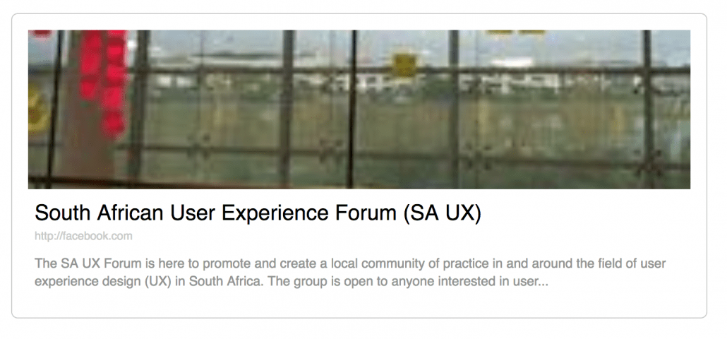 SA_User_Experience_Forum